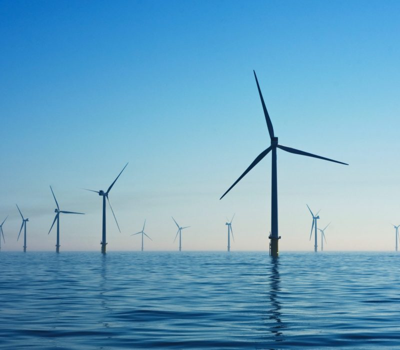 ocean based wind farm